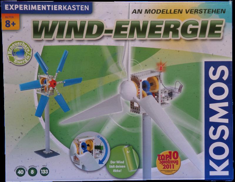 Experimente mit Windenergie