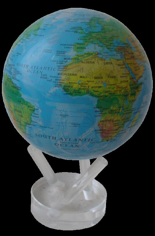 Rotierender Hi-Tech Globus