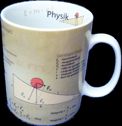 Porzellanbecher-Physik